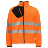6432 Projob HV Softshell Jacket
