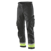 Jobman 2409 Transport trousers zwa/hivis g C146