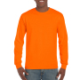 Gildan T-shirt Ultra Cotton LS Safety Orange S