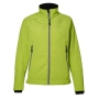 Functional soft shell jacket Lime, XL