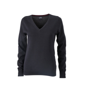 Ladies' V-Neck Pullover
