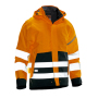 1273 Shell jacket hi-vis orange/black xl