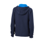 Ladies' Lifestyle Zip-Hoody - navy/kobalt
