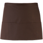Colours' 3 pocket apro brown one size
