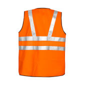 6702 VEST HV ORANGE CL.3 ONE SIZE