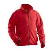 Jobman 5501 Fleece jacket rood xs
