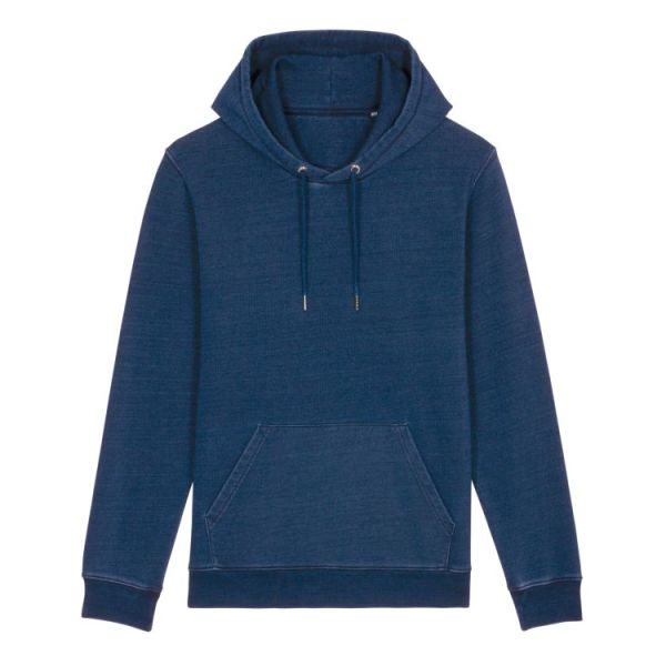 Cruiser Denim - Uniseks sweater van denim met capuchon