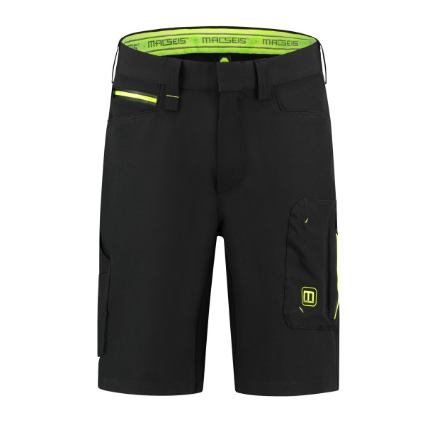 Macseis Shorts Mactronic Black/GN