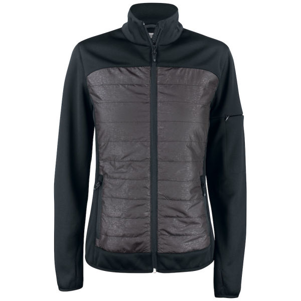 Clique Custer Light Padded Fleece Lds Jackets
