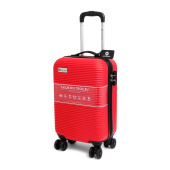 Cabin Size Norländer Tasmani Trolley with Brakes Red