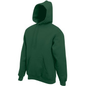 Classic hooded sweat (62-208-0) bottle green xxl