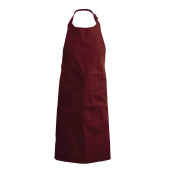 Apron - halterschort wine one size
