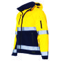 Softshell ISO20471 Bicolor 403007 Fluor Yellow-Navy 4XL
