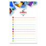 101 mm x 152 mm 50 Sheet Adhesive Notepads White paper