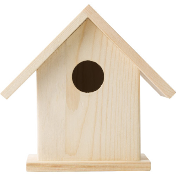 Wooden birdhouse kit