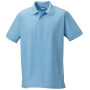 Men's ultimate cotton polo sky blue 3xl