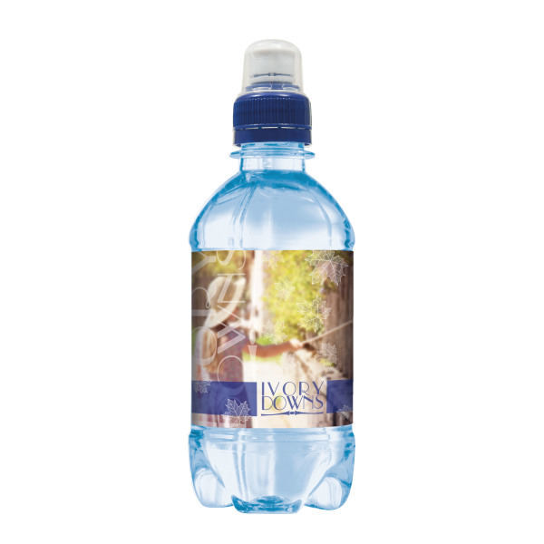 Spring water 330 ml with sports cap