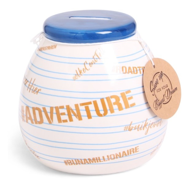 SENZA Dream Moneypot #Adventure