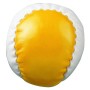 "PVC-Balls, ""Juggle"", yellow/white"