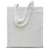 Basic shopper white one size
