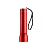 Powerbank zaklamp 2200mAh - Rood
