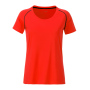 Ladies' Sports T-Shirt feloranje/zwart