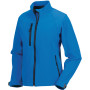 Ladies' softshell jacket azur blue xl
