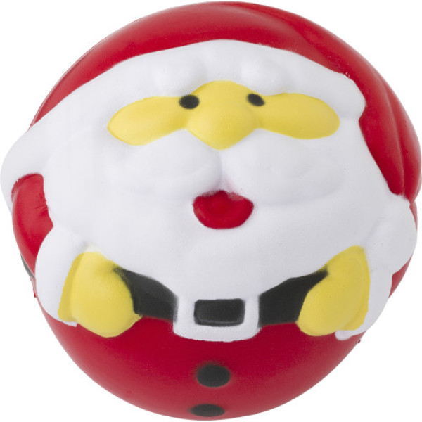 Stressbal Kerstman