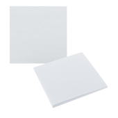 75 mm x 75 mm 100 Sheet Adhesive Notepads White paper