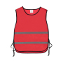 Trainingsvest polyester Rood
