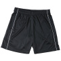 Basic Team Shorts Junior zwart/wit