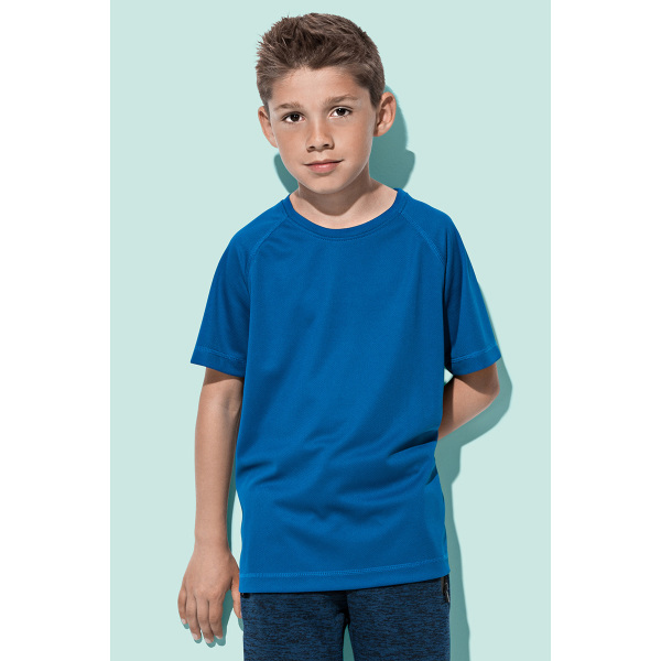 Stedman T-shirt Raglan Mesh Active-Dry SS for kids