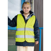 Core junior safety vest fluorescent yellow '4/6