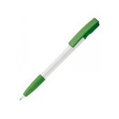 Balpen Nash grip hardcolour - Wit / Groen