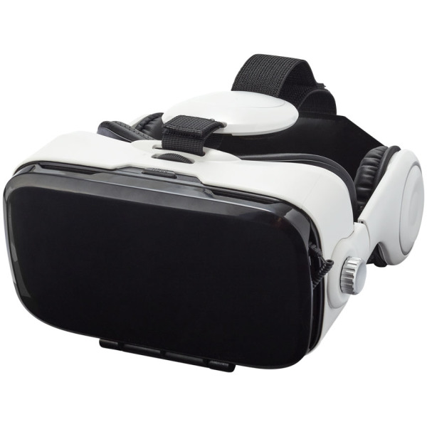 Galaxy virtual reality headset and headphones