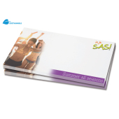 25 vels Memoblad, 125x72mm, full-colour