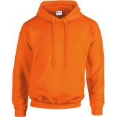 Heavy blend™ classic fit adult hooded sweatshirt safety orange xxl