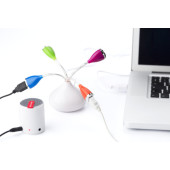 ABS USB hub custom/multicolor