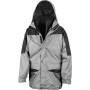 Alaska 3-in-1 jacket grey / black s