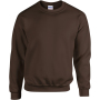 Heavy blend™ adult crewneck sweatshirt dark chocolate xl