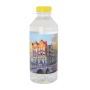 Ronde waterfles 330 ml. met platte dop