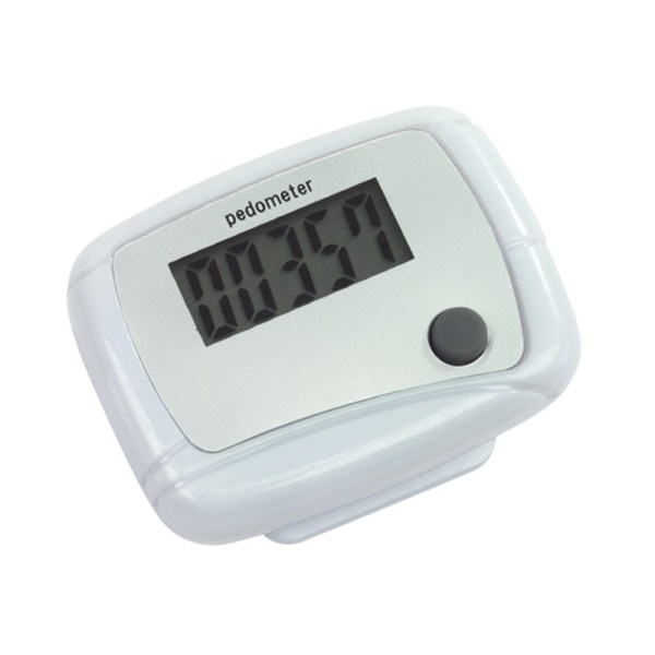 "Pedometer ""EASY RUN"", white"