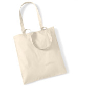 Bag for life - long handles natural one size