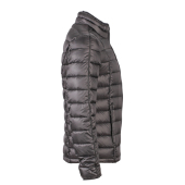 Men's Quilted Down Jacket - zwart/zwart