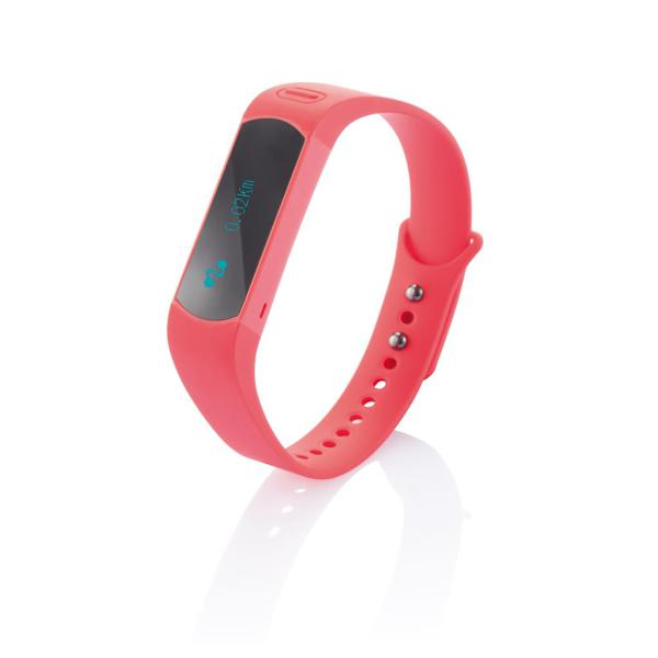 Activity tracker, oranje/zwart