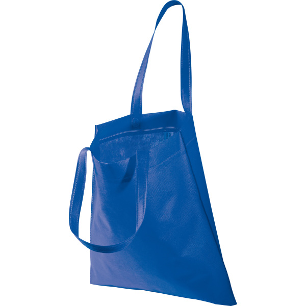 Non-woven bag with long handles