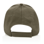 Impact 5 panel 190gr gerecycled katoenen cap met AWARE™ trac