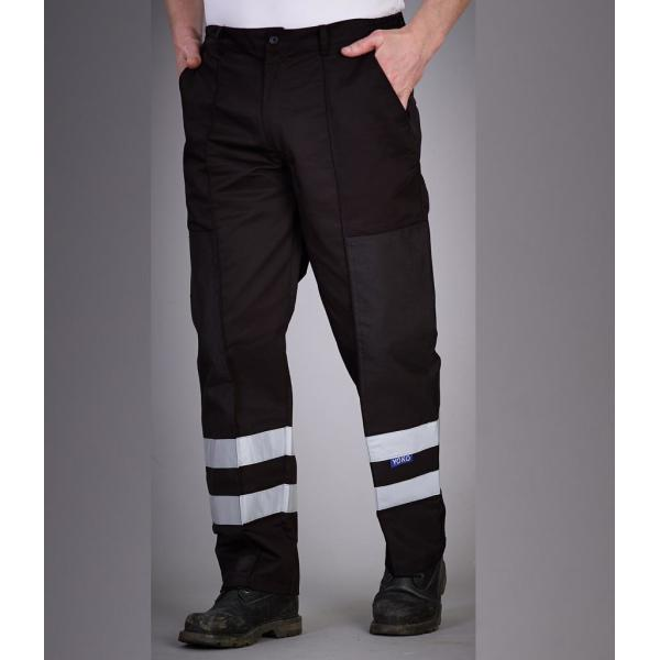 Reflective Poly/Cotton Ballistic Trousers