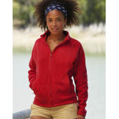 Full Zip Fleece Jacket Lady-Fit