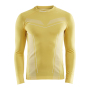 Craft Pro Control seamless jersey ls men yellow xxl